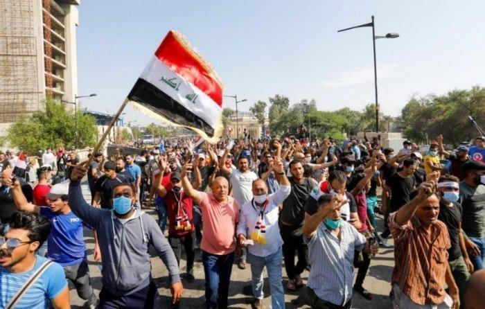Антиправительственные протесты продолжаются в Ираке.