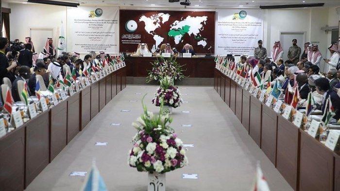 Совещание ОИС прошло в саудовской Джидде.