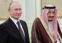 Путин провел телефонные переговоры с королем Саудовской Аравии