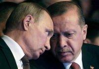 Путин и Эрдоган договорились улучшить координацию в Сирии