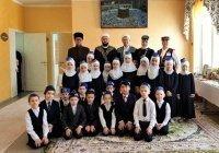 """Муфтий ознакомился с деятельностью школы """"Нур"""" в Альметьевске"""