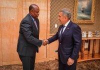 Рустам Минниханов встретился с послом Мозамбика в РФ