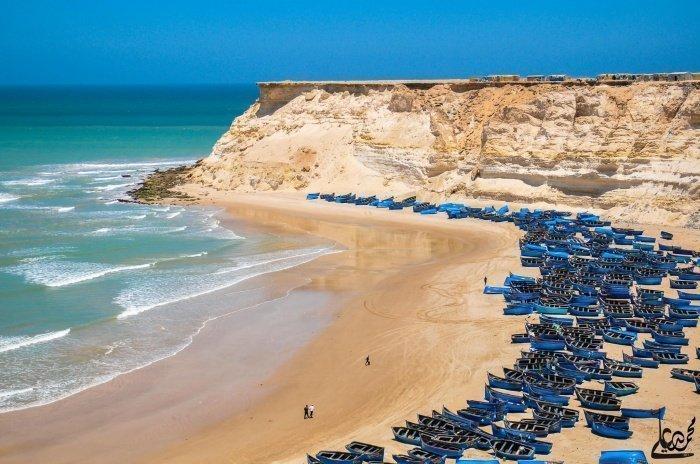 Рыбацкий порт в марокканской Дахле.