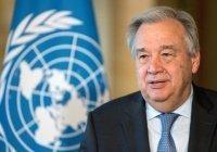 Генсек ООН приедет в Москву на 9 мая