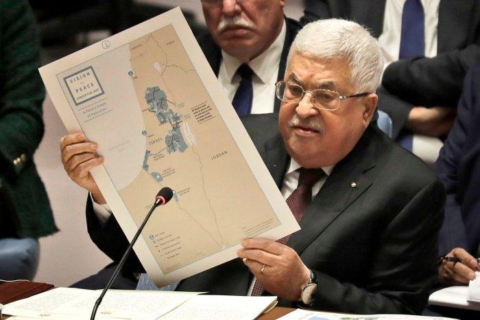 Махмуд Аббас выступил в совбезе ООН.
