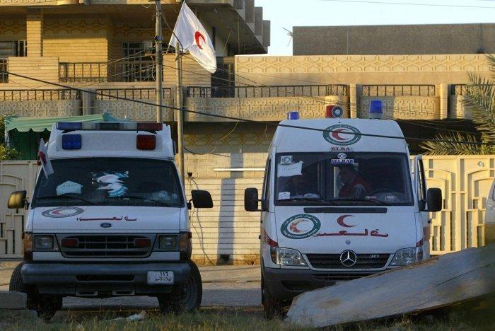 В иракской больнице произошел пожар.