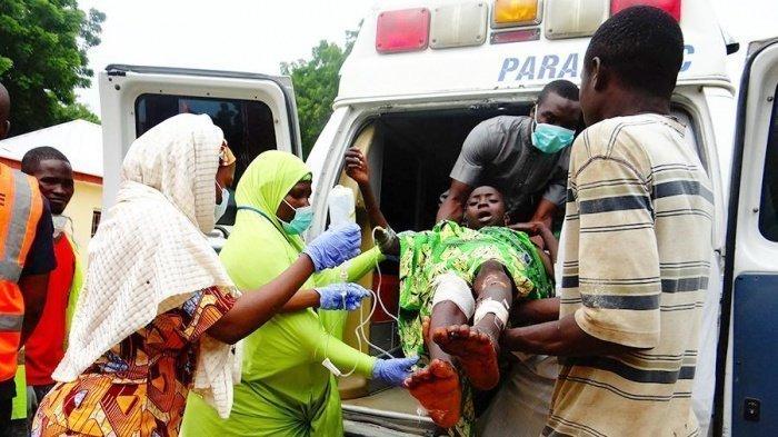 Неизвестные напали на деревню в Нигерии.
