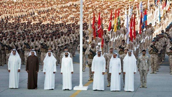 Церемония в честь возвращения эмиратских войск на родину прошла при участии первых лиц государства.
