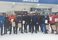 Прихожане казанских мечетей соревновались в лыжных гонках