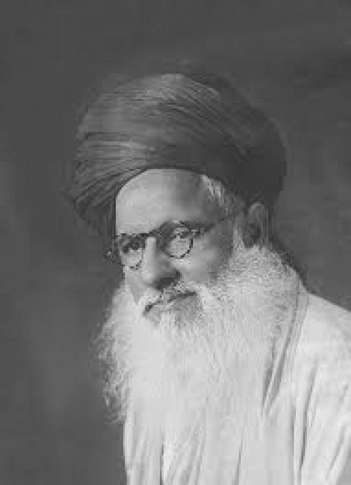 Известный индийский богослов Маулана Мухаммад Абдулалим Сиддики