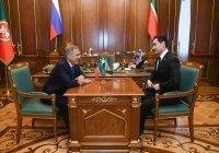 Минниханов встретился с сыном Бердымухамедова