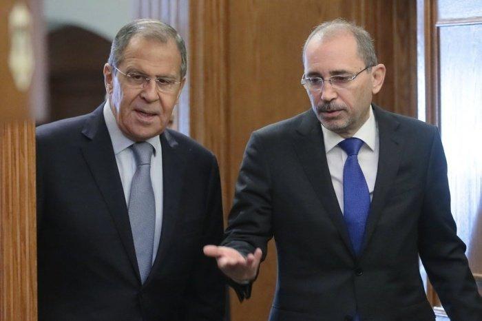 Лавров и ас-Сафади на одной из предыдущих встреч.