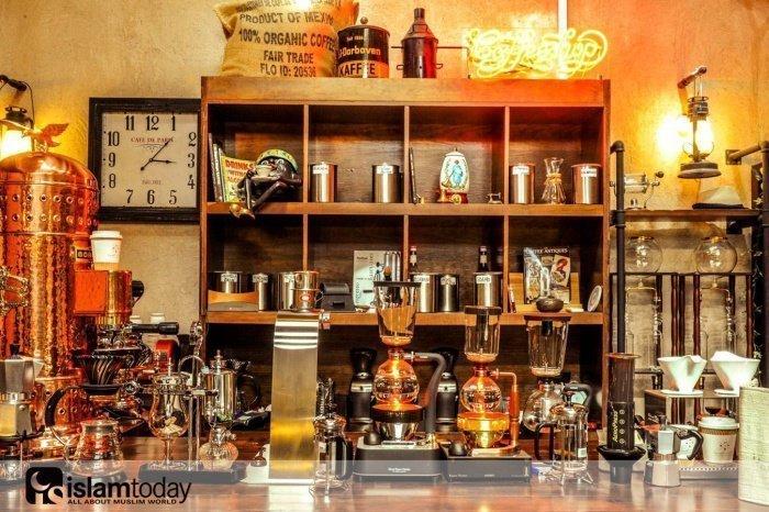 Музей кофе в Дубае. (Источник фотографий: vk.com)