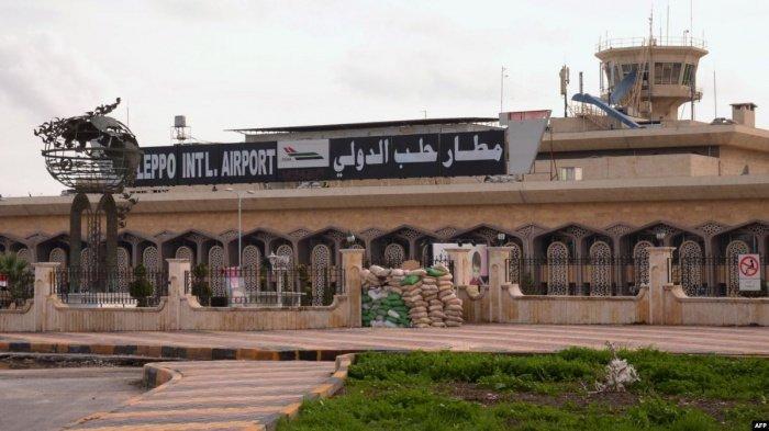 Аэропорт Алеппо не работал в течение восьми лет.