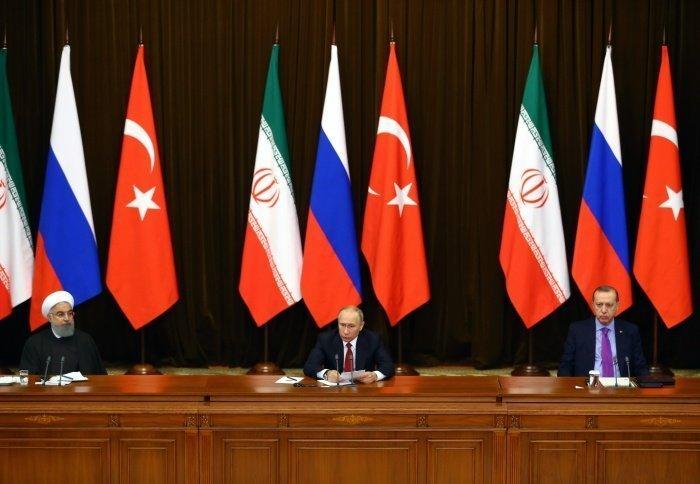 Предыдущий саммит лидеров России, Ирана и Турции прошел в Анкаре.