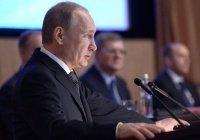 Путин заявил о сокращении числа террористических преступлений в России