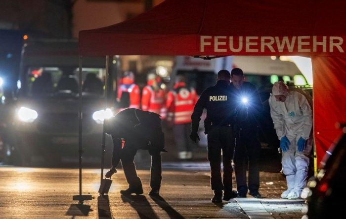 В германском Ханау продолжается расследование теракта.