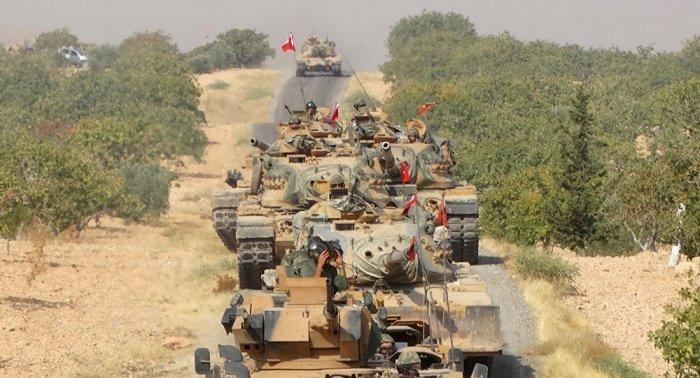 Турецкие войска в Сирии.
