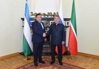 Минниханов встретился с главой Бухарской области Узбекистана