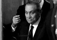 В Египте объявлен трехдневный траур в связи с кончиной Мубарака