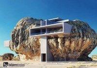 Дом внутри скалы. А вы бы хотели жить в таком доме? (ФОТО)