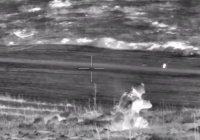 Минобороны показало, как уничтожает боевиков (Видео)