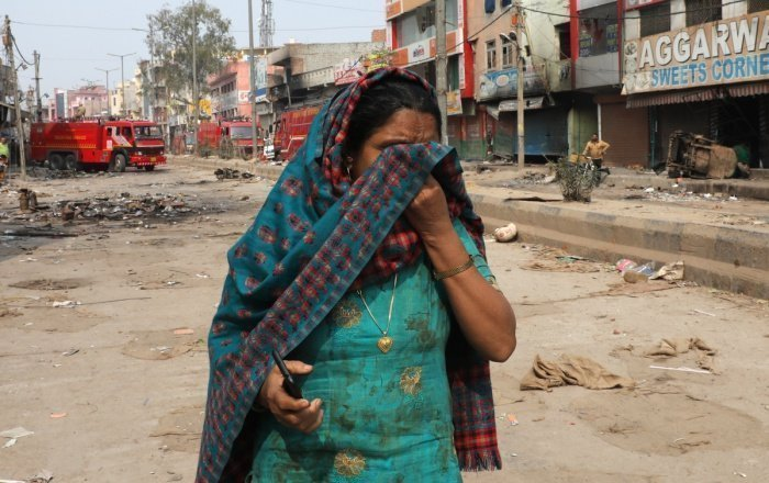 Антимусульманские погромы в столице Индии