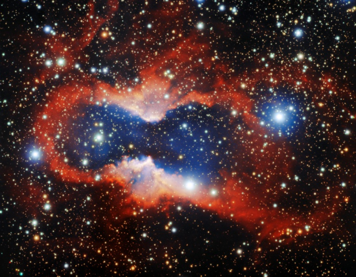 Вопреки своему названию, планетарные туманности ничего общего с планетами не имеют (Фото: The international Gemini Observatory/NSF's National Optical-Infrared Astronomy Research Laboratory/AURA)