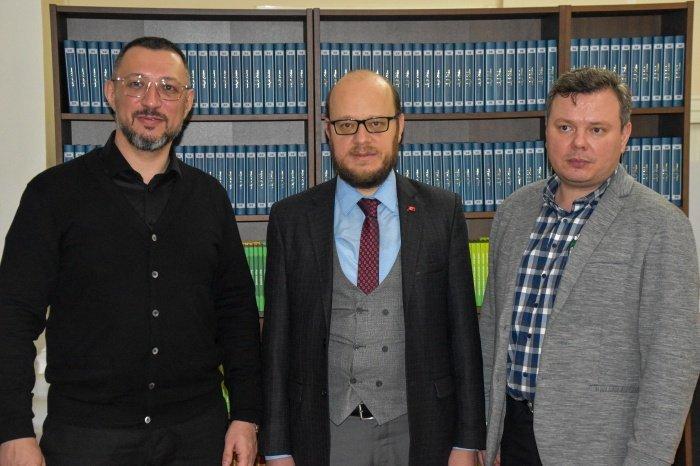 Муфтий Татарстана встретился с советником посольства Турции в РФ