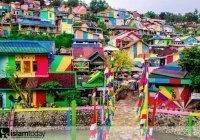 Радужная деревня Индонезии, покорившая Инстаграм