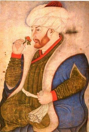 Мехмед II Завоеватель. Миниатюра