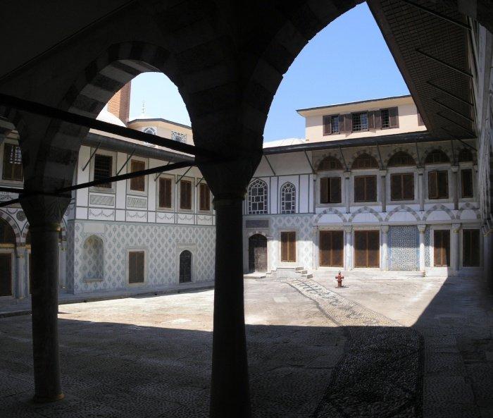 Вид на апартаменты валиде-султан - матери султана.