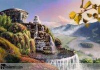 Где находился рай, в котором жили Адам и Хава?