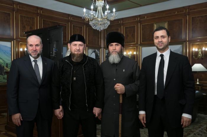 Рамзан Кадыров встретился с советником президента Палестины.
