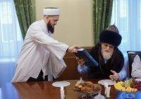 Муфтий Татарстана встретился с Верховным муфтием Талгатом Таджутдином