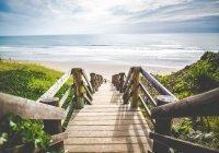 Предсказано глобальное исчезновение пляжей
