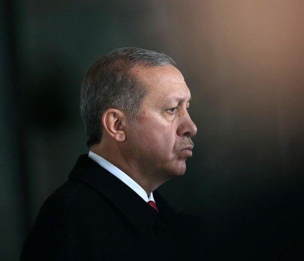 Президент Турции прибыл в российскую столицу.
