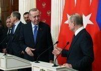 Эрдоган пригласил Путина в Турцию на 100-летие дипотношений