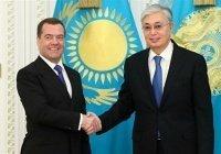 Медведев: отношения России и Казахстана находятся на серьезном этапе развития
