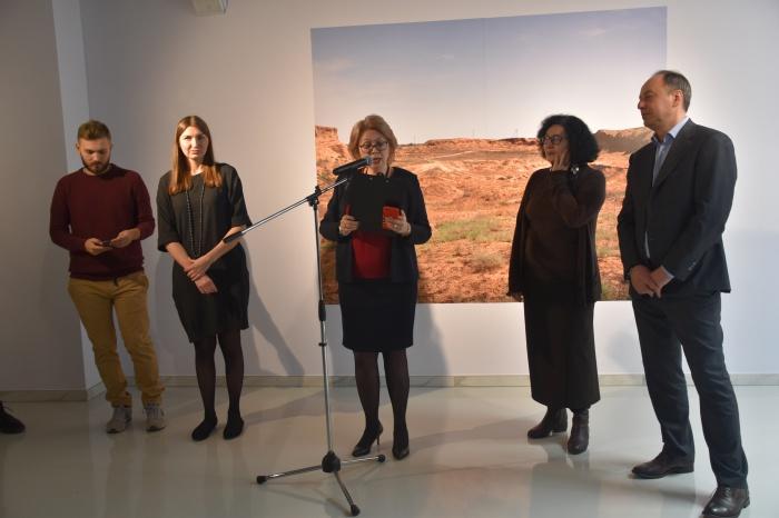 Открытие выставки Сергея Потеряева