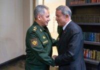 Министры обороны России и Турции провели телефонные переговоры