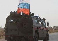 Российский военнослужащий погиб в ДТП в Сирии
