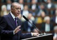 Эрдоган пришел в парламент Турции с тепловизором