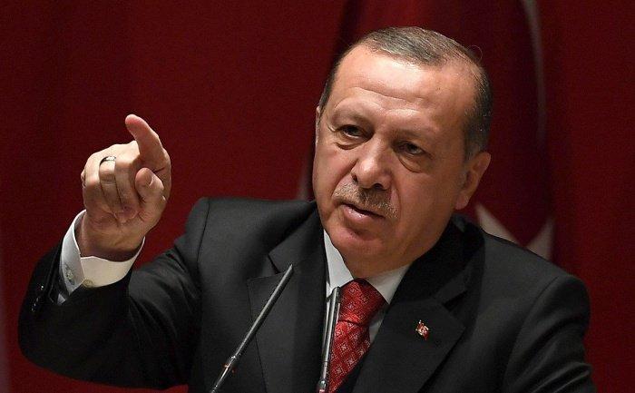 Эрдоган раскритиковал действия греческих властей.