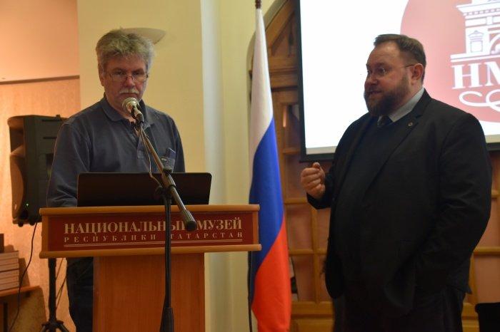 Презентация монографии «Мирас – наследие. Татарстан – Крым»