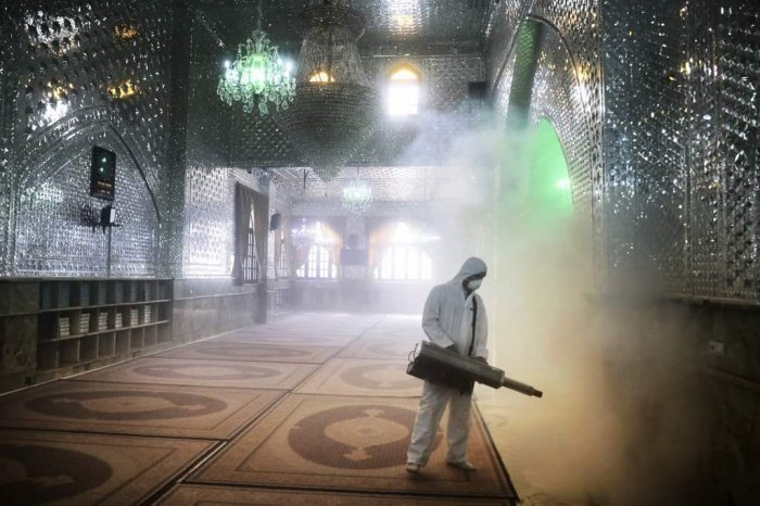 Как мечети защищают от коронавируса