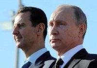 Путин поздравил Асада с наступающей Ночью Мирадж