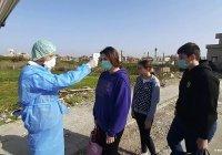 В Сирии выявлен первый случай заражения коронавирусом
