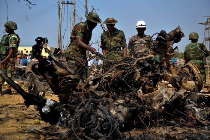 Боевики атаковали нигерийских военных.