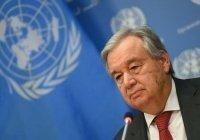 Генсек ООН призвал отменить все санкции